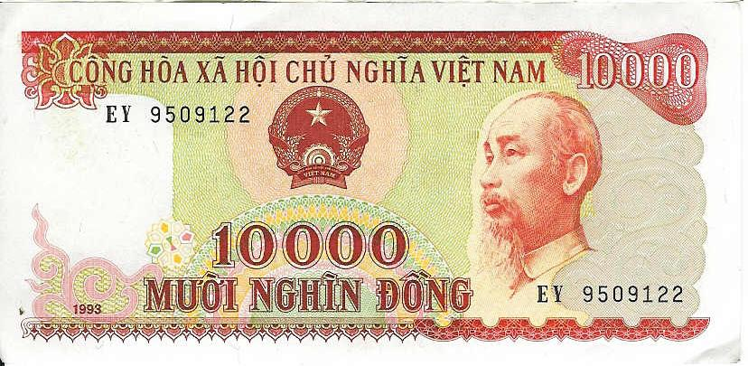 ... domination of 1000 VND, 2000 VND, 5000 VND, 10000 VND, 20000 VND, 50000  VND, 100000 VND, 200000 VND and 500000 VND are presently in circulation.